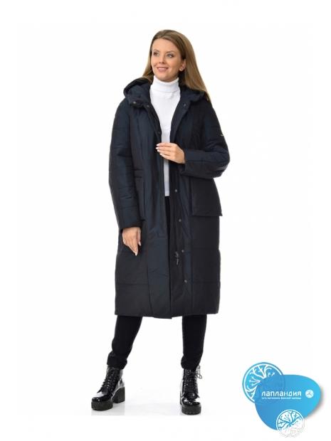 дизайнерское пальто женское Ultramarine 242W зел Купить магазин финской одежды Лапландия: магазин Новые Черемушки Профсоюзная 45, магазин в Бутово ул Скобелевская 25.