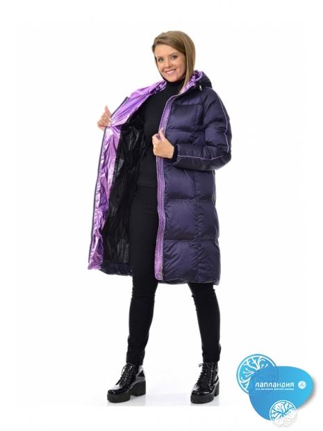 блестящая зимняя куртка AVI 90020 SEVERINA  Купить магазин финской одежды Лапландия: магазин Новые Черемушки Профсоюзная 45, магазин в Бутово ул Скобелевская 25.