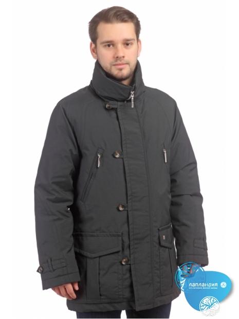 мужская куртка в классическом стиле на пуху