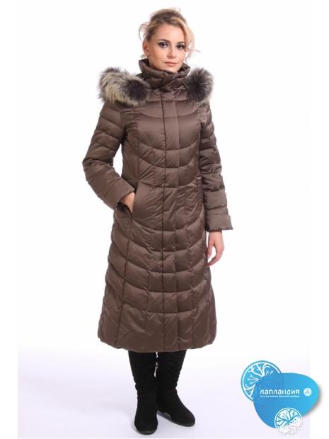 зимнее пальто с мехом Joutsen 1-339-0029-F 60 Купить