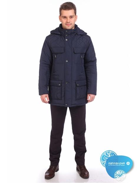 стеганая мужская куртка