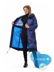 модное пальто на пуху AVI 70001  Купить магазин финской одежды Лапландия: магазин Новые Черемушки Профсоюзная 45, магазин в Бутово ул Скобелевская 25.