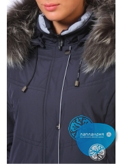 финская зимняя женская  куртка Maritta 24-3037 JATTA Купить магазин финской одежды Лапландия: магазин Новые Черемушки Профсоюзная 45, магазин в Бутово ул Скобелевская 25.