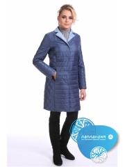 стеганое женское пальто