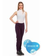 вельветовые брюки жен.