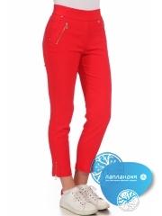 красные брюки жен.