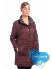 удлиненная двусторонняя  стеганая куртка