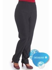 женские брюки на резинке в поясе