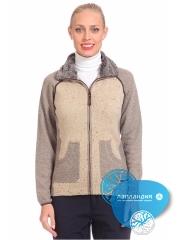 куртка женская из вязанного трикотажа