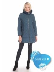 стеганая зимняя женская куртка