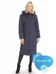 зимнее женское пальто с мехом ROOSA