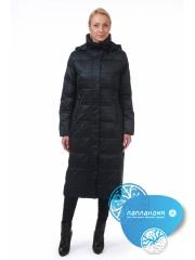 Длинное женское пальто