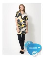 удлиненная туника-рубашка